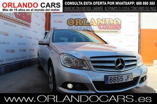 Mercedes-Benz Clase C 200 CDI Blue Effic. Ava 2015