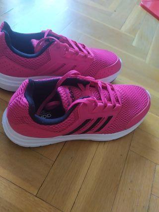 zapatillas Adidas galaxy 4 mujer talla 40