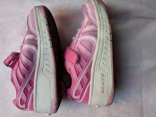 zapatillas skate talla 32 rosadas niña
