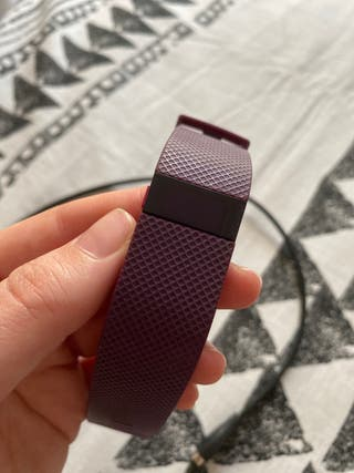 Fitbit Charge HR pulsera actividad violeta