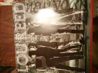 Disco vinilo Lou Reed