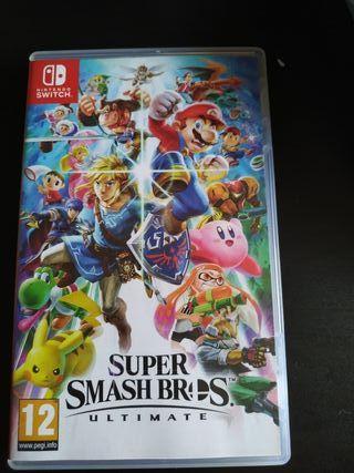super smash bros juego Nintendo Switch