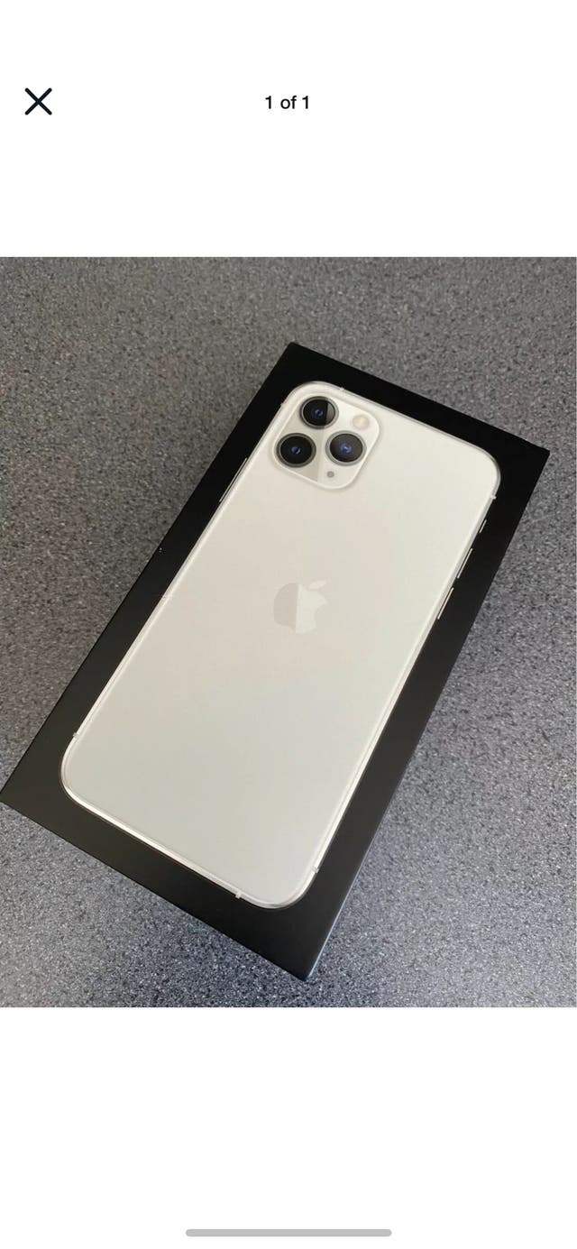 iPhone 11 Pro 64gb Silver - 3 Days old!