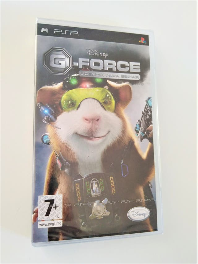 G-FORCE LICENCIA PARA ESPIAR PSP