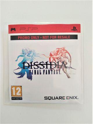 FINAL FANTASY DISSIDIA PSP