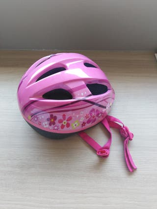 Casco de niña ajustable
