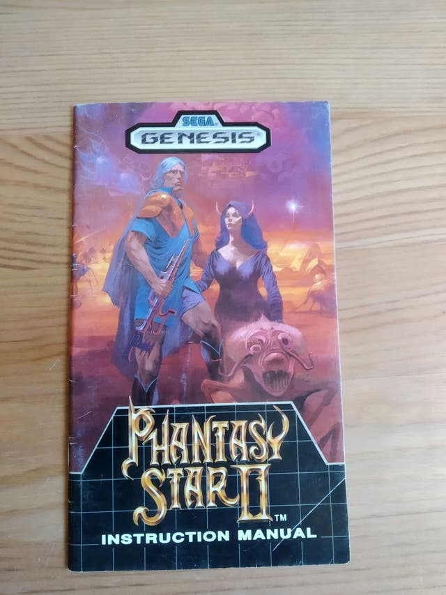 Phantasy star II manual