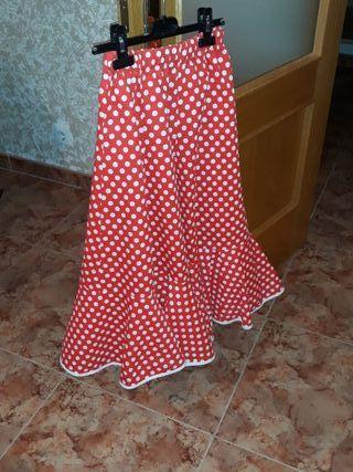Falda de sevillana