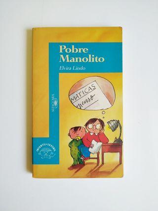 4x5€ - Pobre Manolito - Elvira Lindo