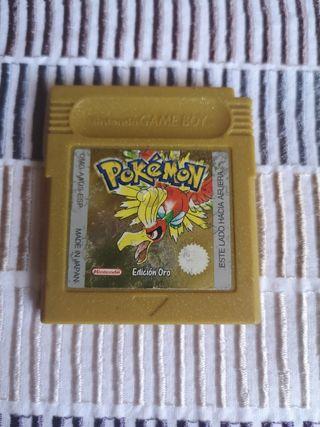Game Boy Pokemon Oro Pila Nueva
