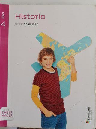 libro historia, 4°ESO, santillana