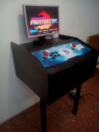 máquina arcade retro con 2000 juegos
