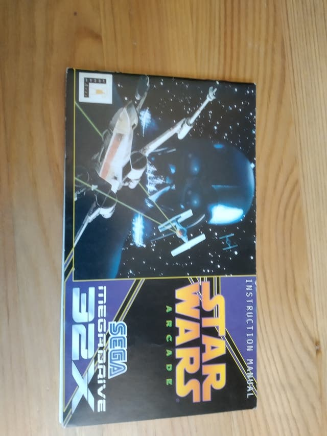 Star Wars arcade manual