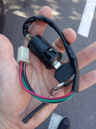 llave contacto pit bike