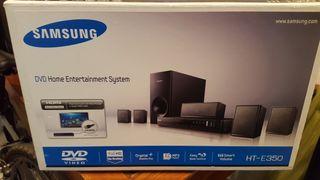HOME CINEMA DVD SAMSUNG HT-E350 DIVX USB 5.1 HDMI
