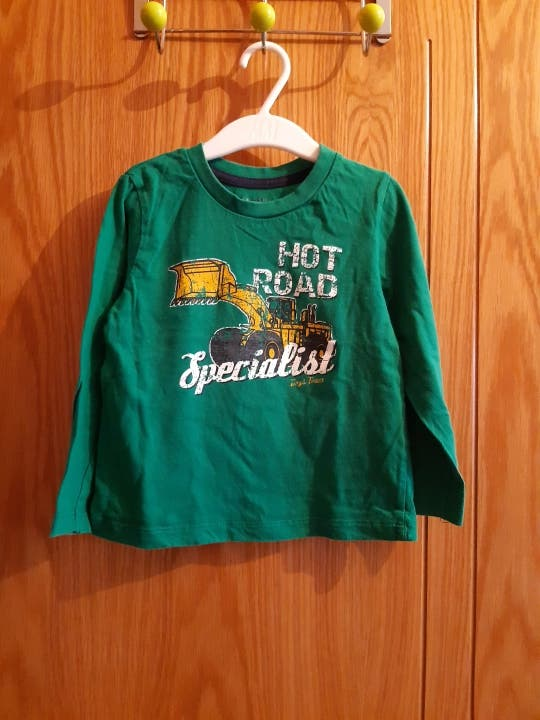 Camiseta manga larga talka 2-4 años