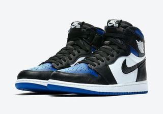 Nike Air Jordan 1 Royal Toe