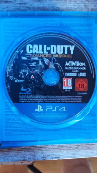 VENDO CALL OF DUTY BLACK OPS 4 + OTRO DE REGALO :)