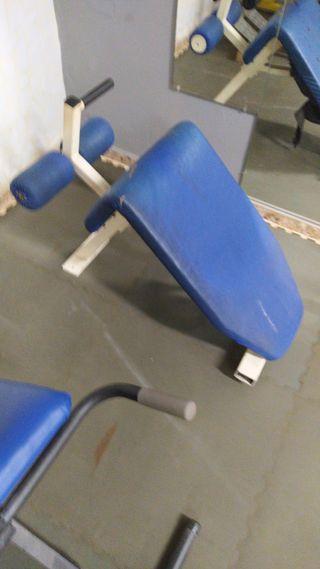 banco gimnasio inclinado,declinado, abdominales