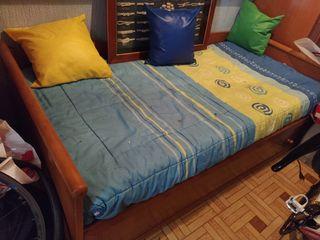 cama nido y escritorio juvenil