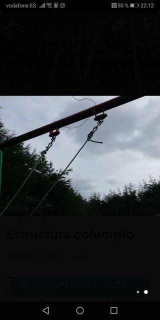 Estructura columpio