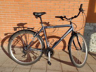 bicicleta de paseo de hombre Dunlop.