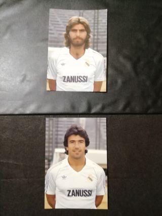postal oficial Juanito y Juan Jose