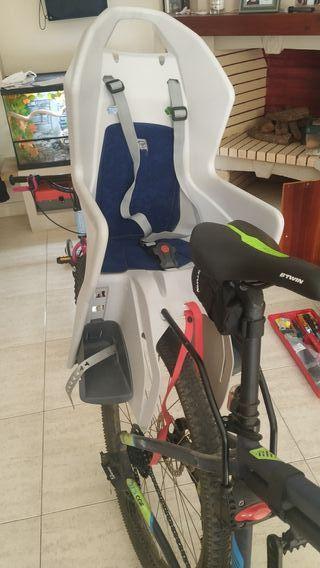 Silla infantil para bici