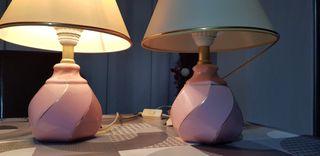 lámparas cerámica