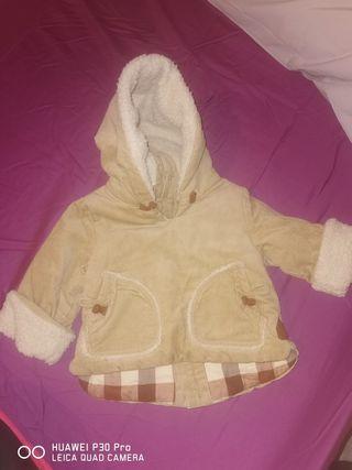 chaqueta bebé 6.12 meses