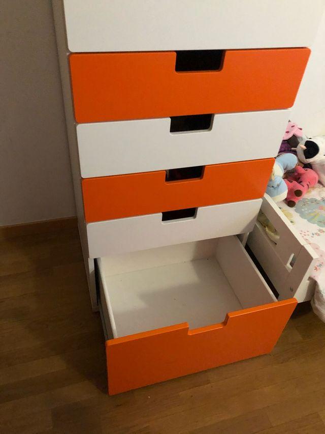 Armario infantil Stuva Ikea