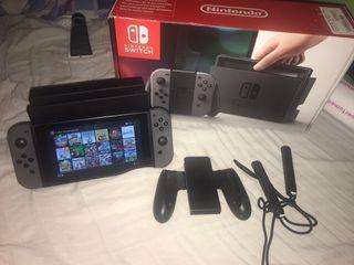 Nintendo switch 18 juegos 128 gb (ultima oferta)