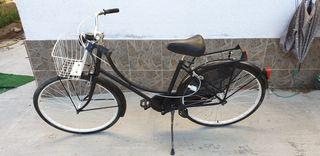 bicicleta tipo vintage