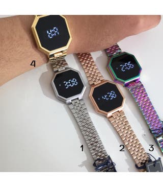 Reloj Digital táctil