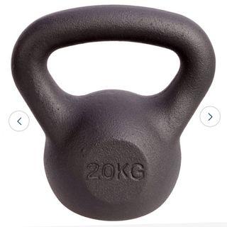 Cast iron kettlebell 20 kg