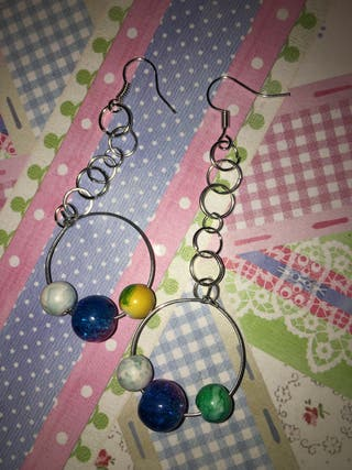 Handmade Beaded Earrings New