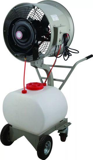 Ventilador con nebulizador industrial