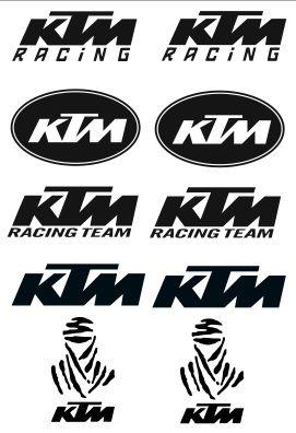 Kit pegatinas KTM A4...