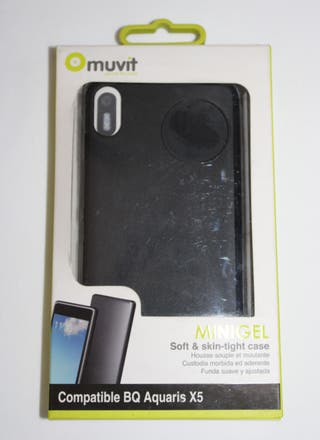 FUNDA PARA MOVIL BQ AQUARIS X5