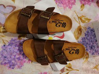 sandalias, hechas en España. nuevas