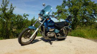 Moto custom Aprilia Classic 125, año 2000, 26000km