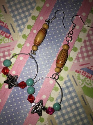Handmade Bohemian Beaded Earrings New