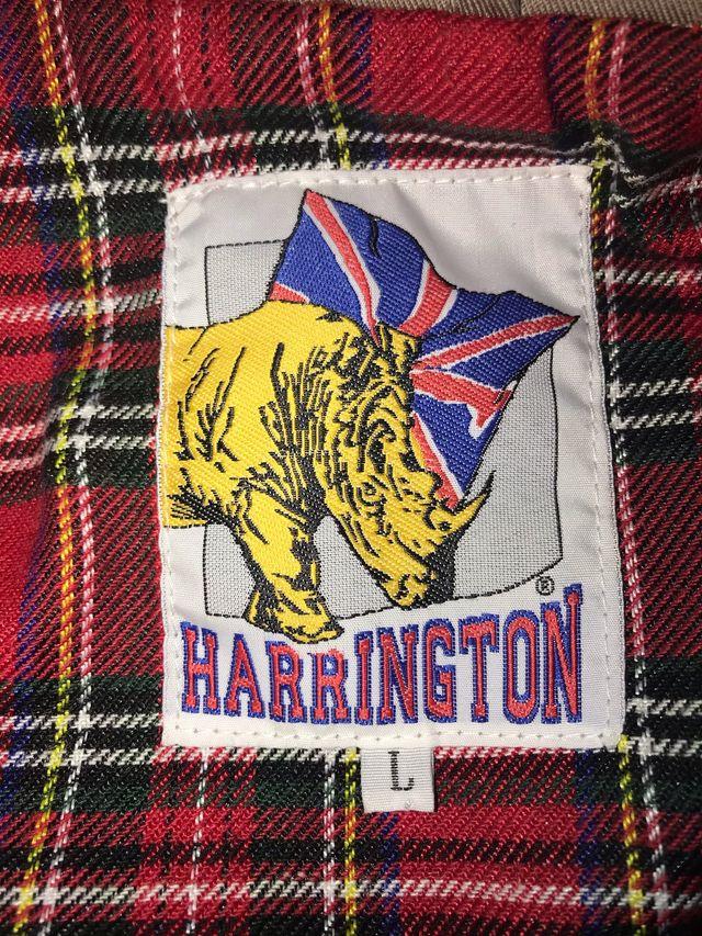 Chaqueta bomber fina Harrington