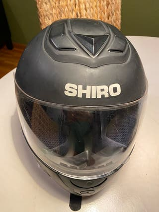 Casco integral negro Shiro talla XS