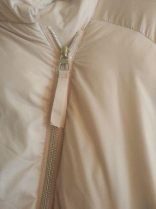 abrigo rosa talla xl