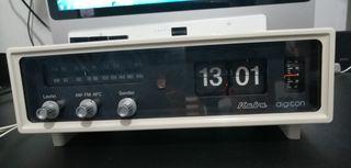 RADIO RELOJ KUBA DIGITON FLIP CLOCK