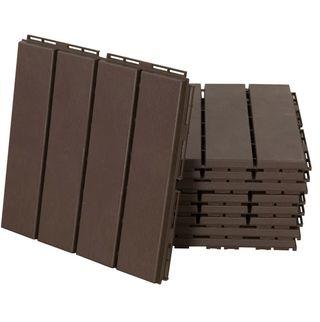 Suelos de Exterior 30x30 Paquete de 9 Piezas