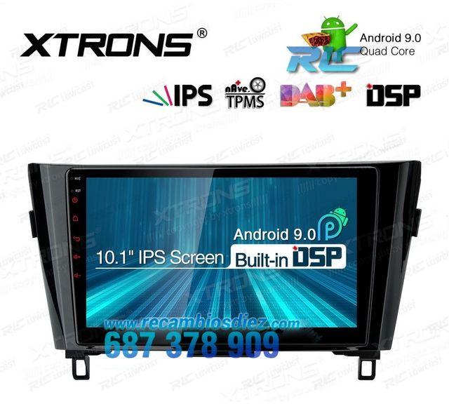 """RADIO GPS 10.1"""" PANTALLA TÁCTIL PARA NISSAN"""