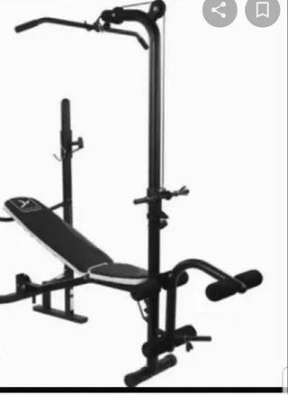 banco musculacion pesas