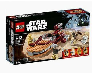 NUEVO Lego Star Wars Nave de Luke Skywalker